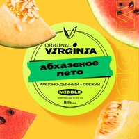 Табак Original Virginia - Middle 100гр - Абхазское Лето