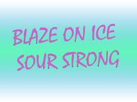Blaze Sour One Ice Strong - Blackberry Grapefruit (Грейпфрутово-ежевичный сок)