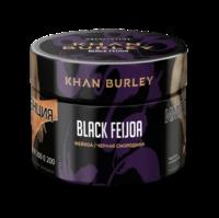 KHAN BURLEY Black Feijoa