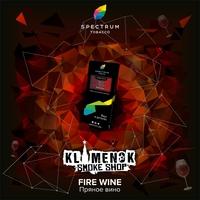 Spectrum Hard Fire Wine