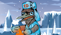 Frost Drozd  Листья алоэ со льдом