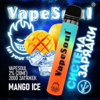 VapeSoul 2000 PUFFS Mango Ice