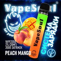 VapeSoul 2000 PUFFS Peach Mango